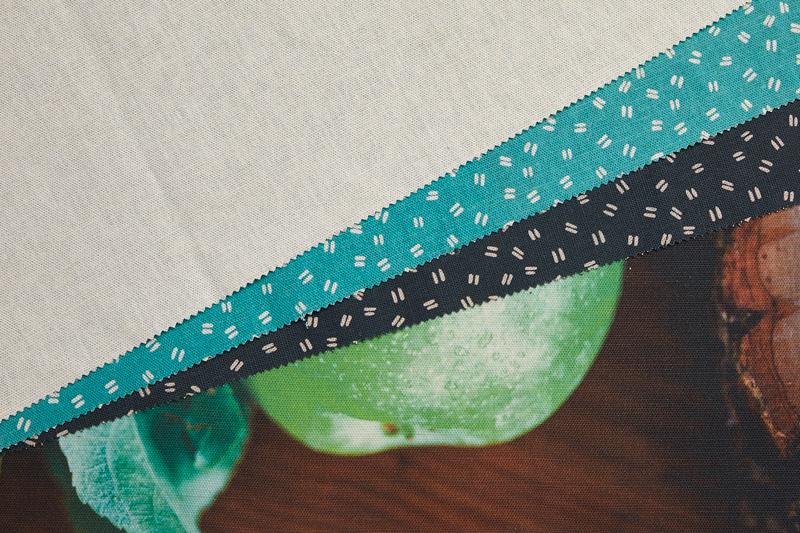 Killary Bleached Printed Fabric