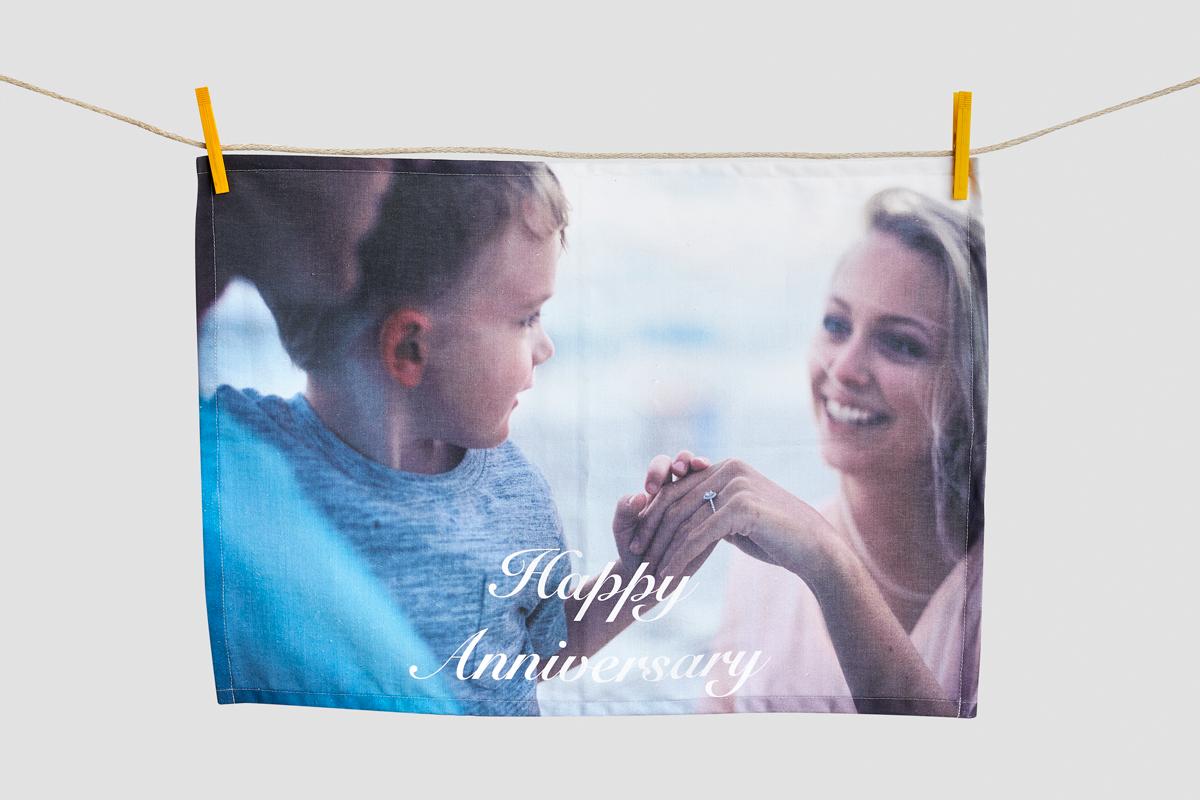 Custom Print Tea Towels - Microfibre
