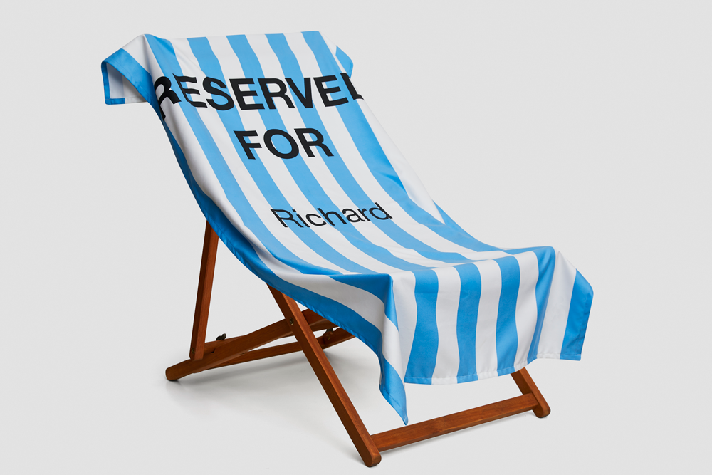 Personalised Printed Deck Chair