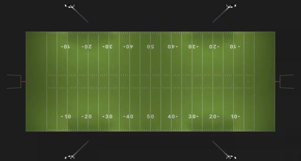 Football Field Render