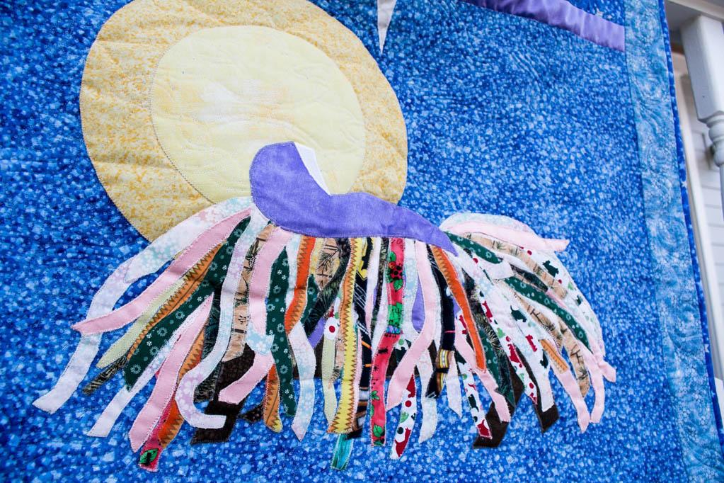 custom quilt design