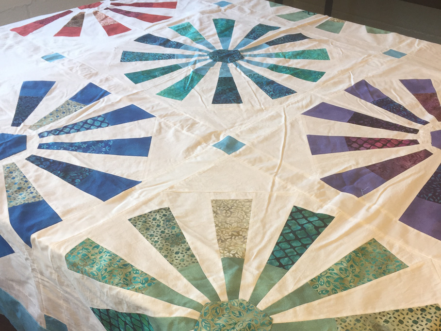 antique quilt top