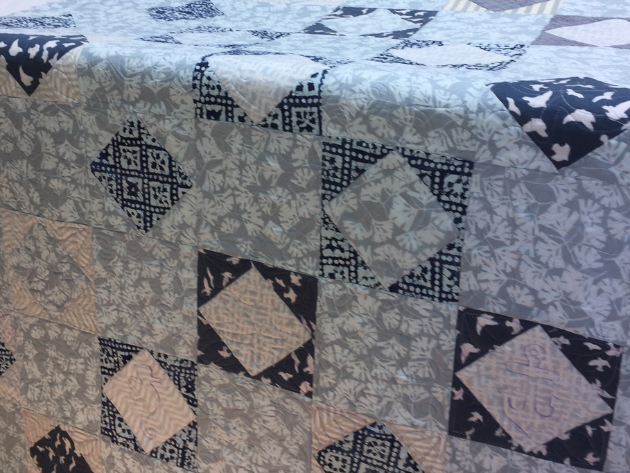 Custom detailed long arm quilting