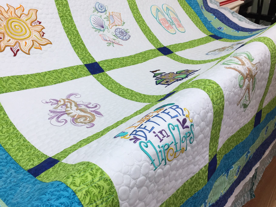 Lowcountry uses Gamill Longarm