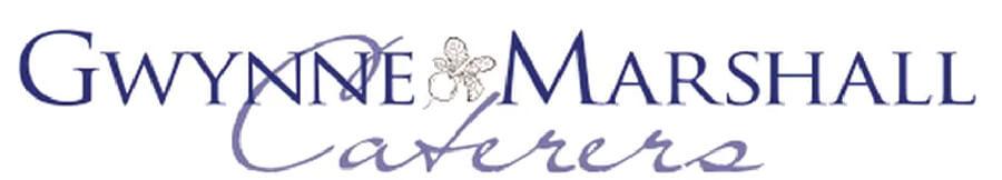 Gwynne Marcshall caterers logo