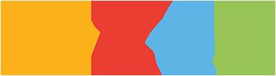 Webflow blue logo branding