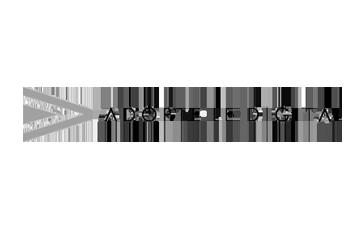 adopts the digital logo