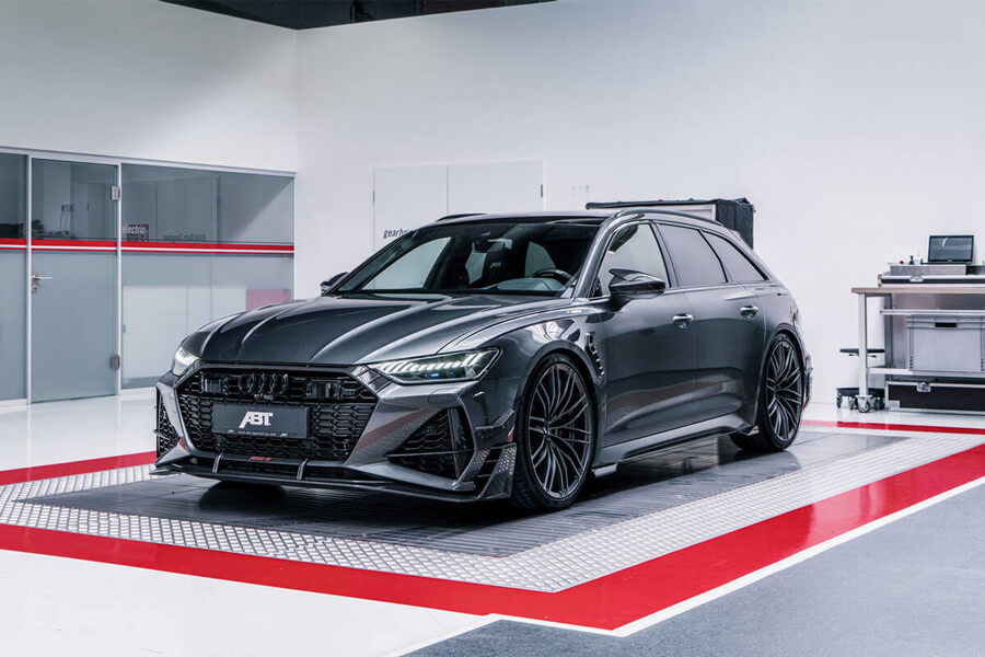 ABT RS6 front: the 690hp station wagon