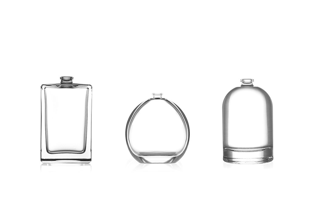 stock perfume glass bottles