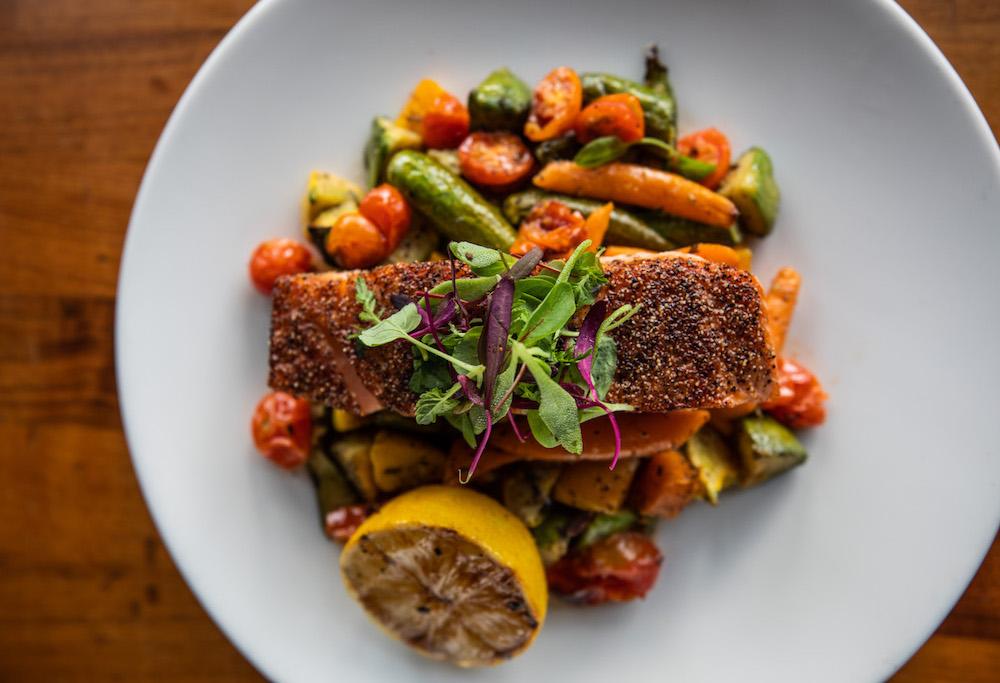 The Verge Company - Margo's Salmon Dinner