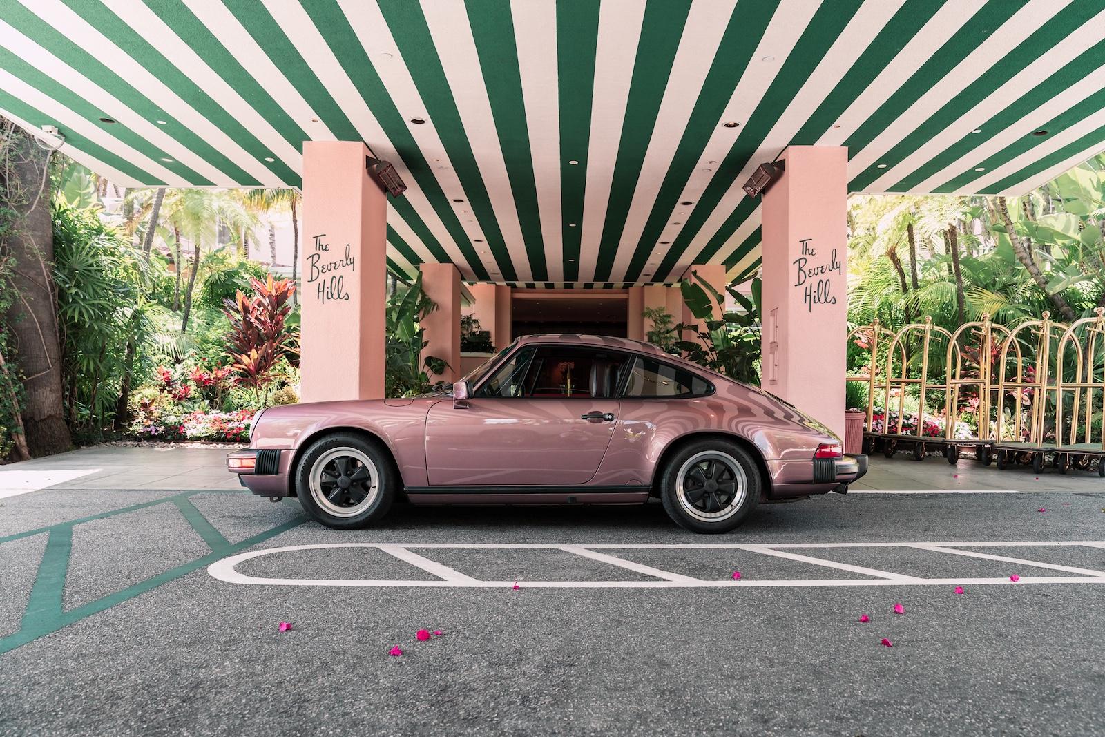 Porsche 911 Beverly Hills Hotel