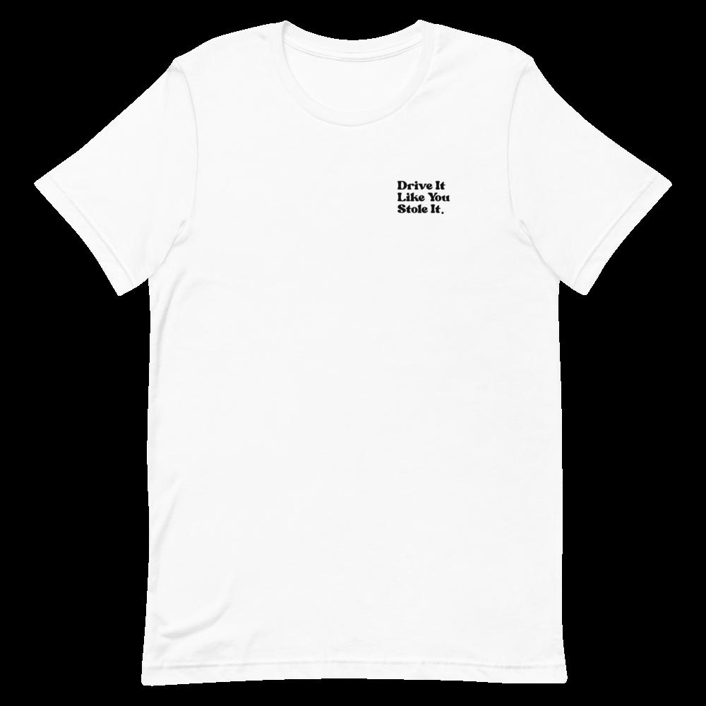 ILCC White Tee Shirt Drive it
