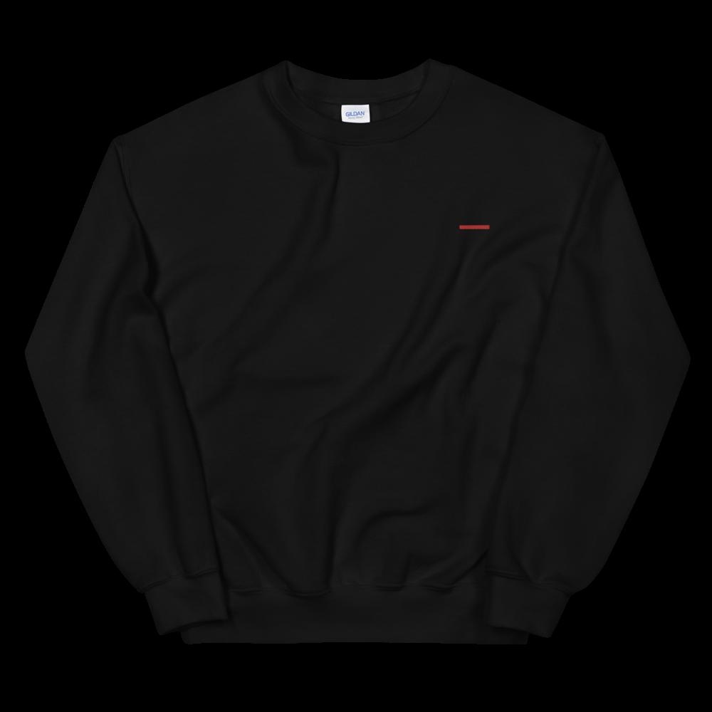 ALA Creative Redline black sweatshirt