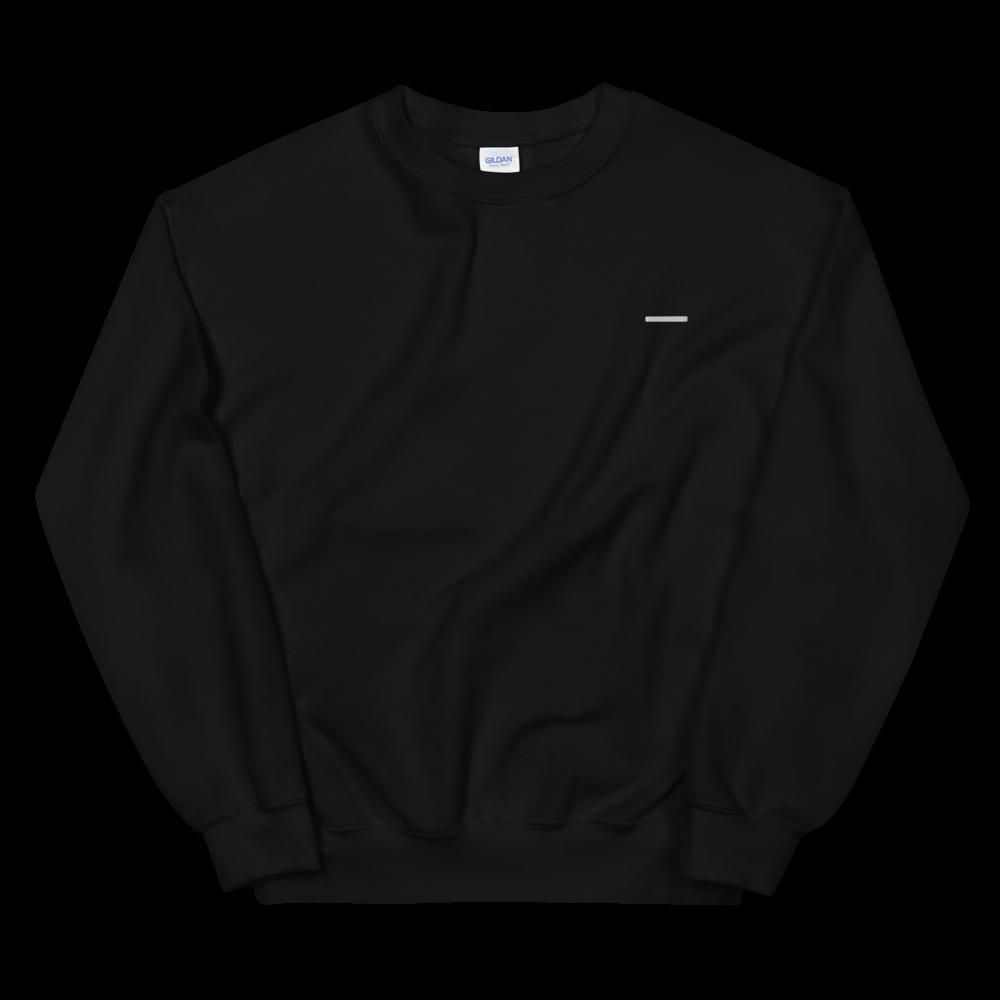 White Line Embroidered Sweatshirt