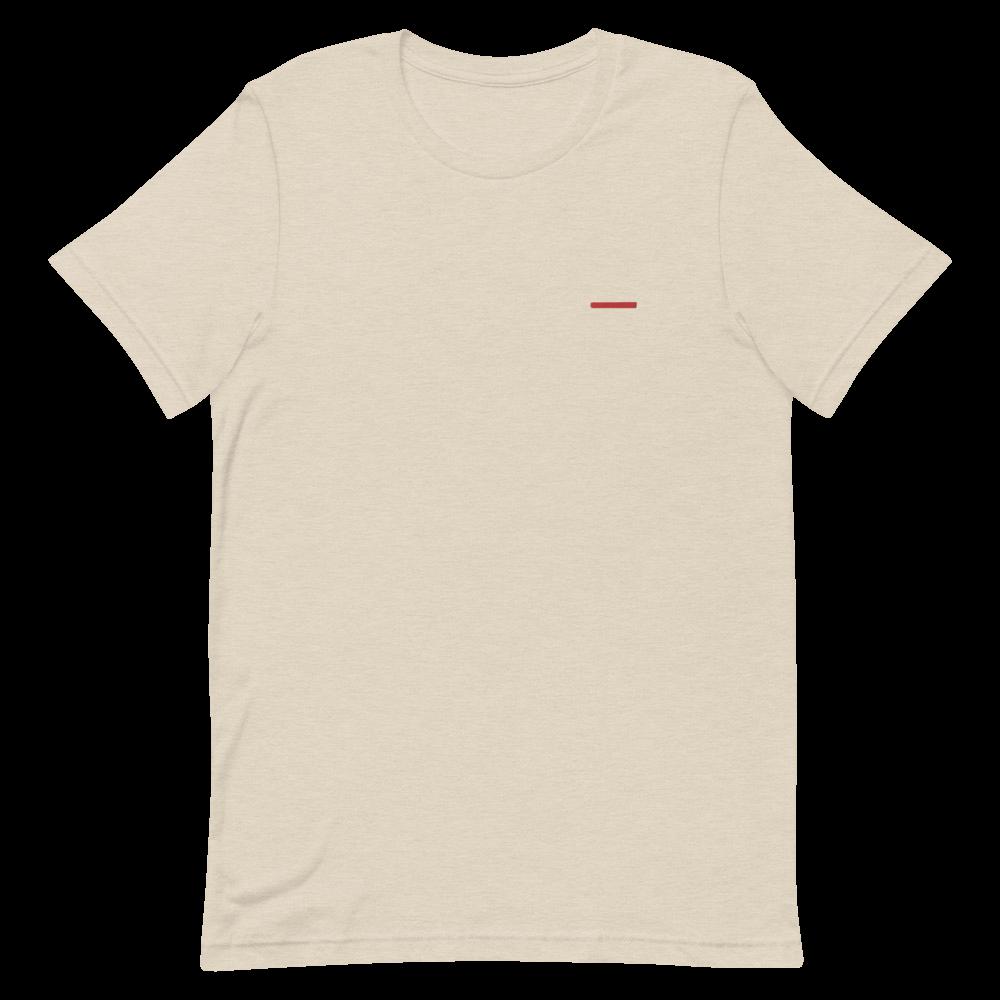 Lightweight Embroidery Line Shirt