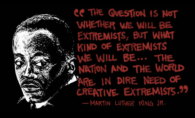 Video: Dr. Martin Luther King Jr. – Creative Extremists