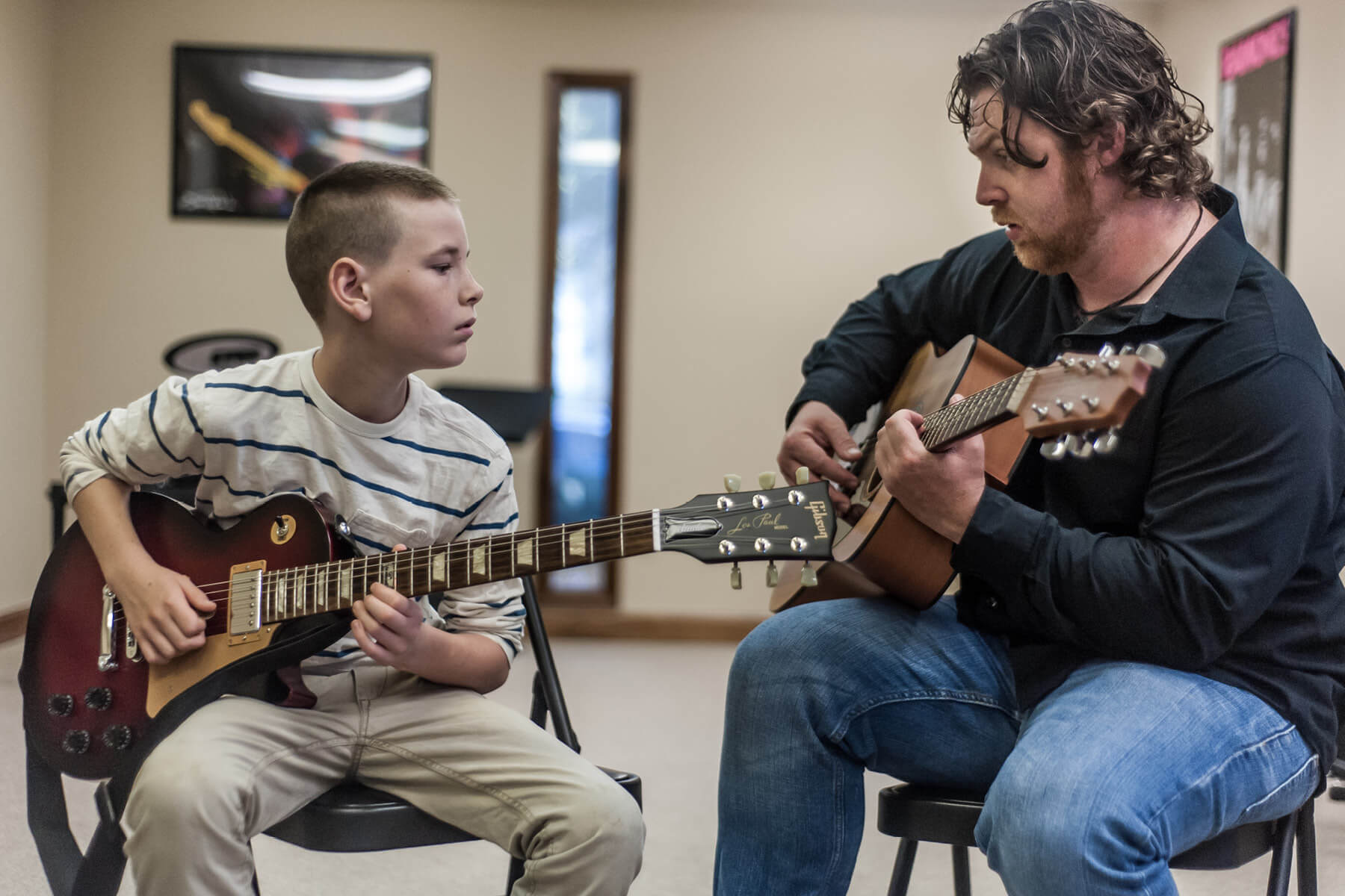 Guitar lessons with Lexington School of Music instructor.