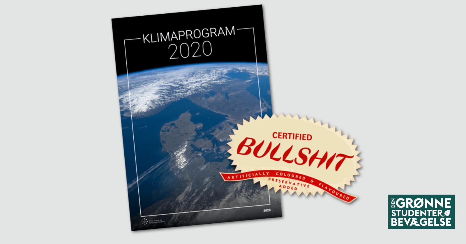 Klimaprogrammet 2020 - klimalovbrud ved højlys dag