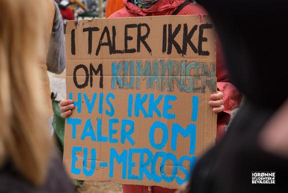 March og opråb til mediehuse - Tag Klimaansvar