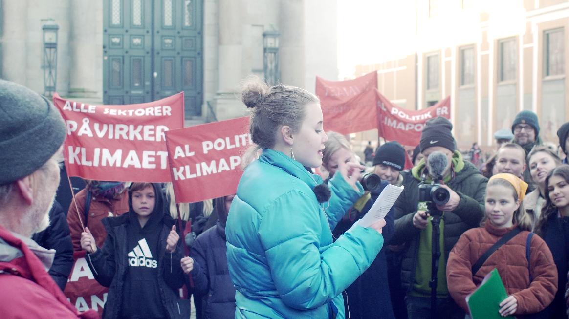Klimapåmindelsen - Den Grønne Studenterbevægelse
