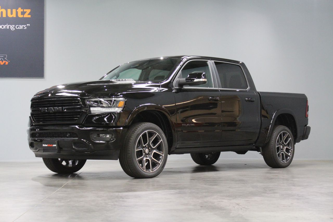 1500 LARAMIE CREW BLACKPACK FULL OPTIONS
