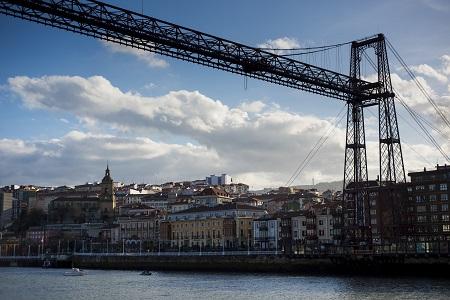 Bizkaia Bridge Bilbao