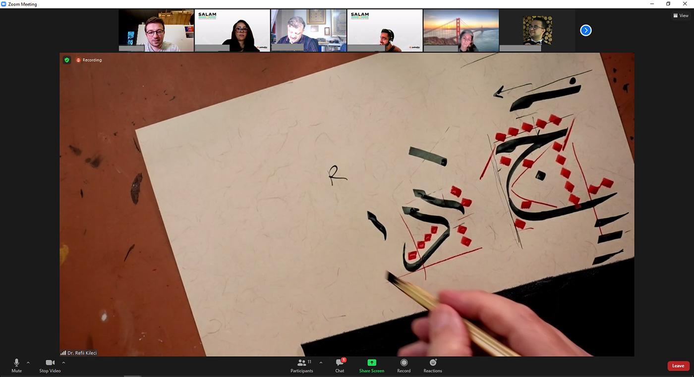 online arabic calligraphy workshop