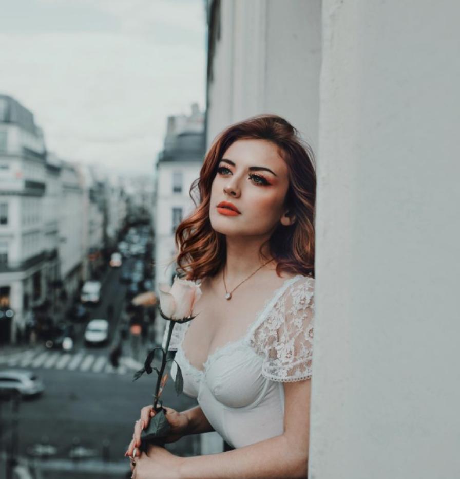 Photo d'une jeune femme