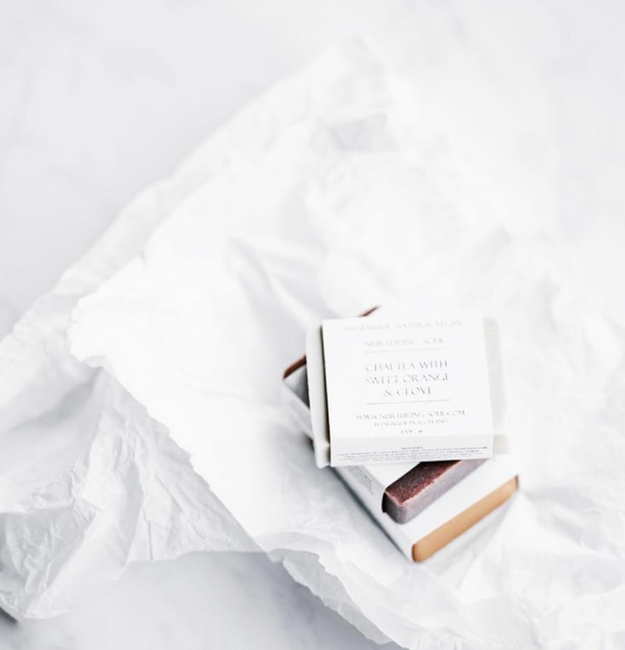 Photo d'un packaging de savon