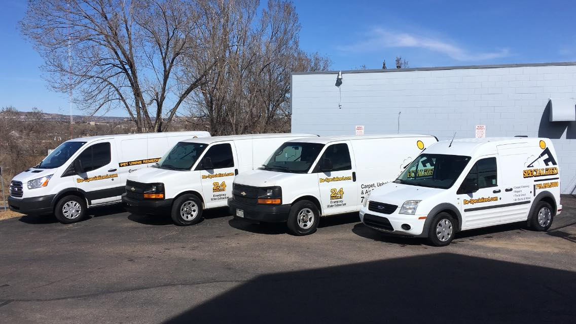 SPECIALized Cleaning Vans