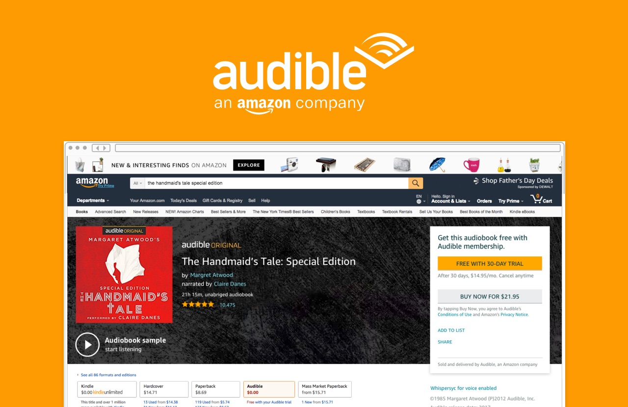 amazon audiobooks cancel