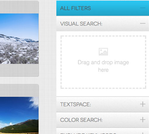 YayImages search page all filter
