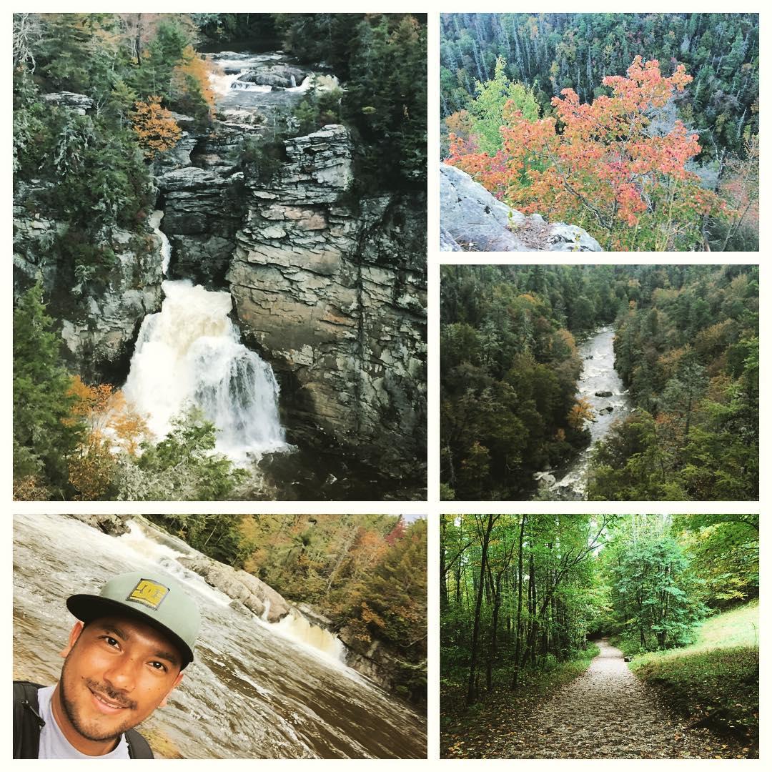 Earl at Linville Falls, NC