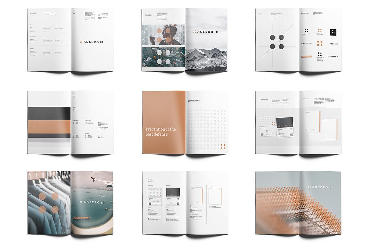 Adsero IP brand book