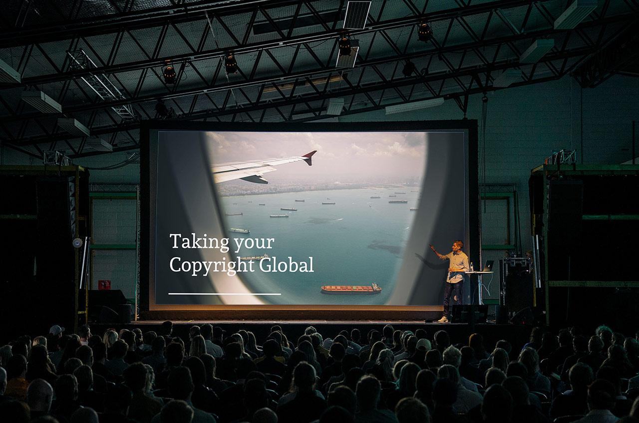 Auditorium presentation