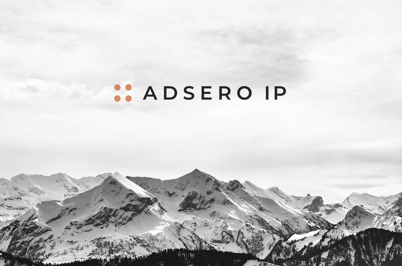 Logo Design and overall corporate identity, Adsero IP Logo