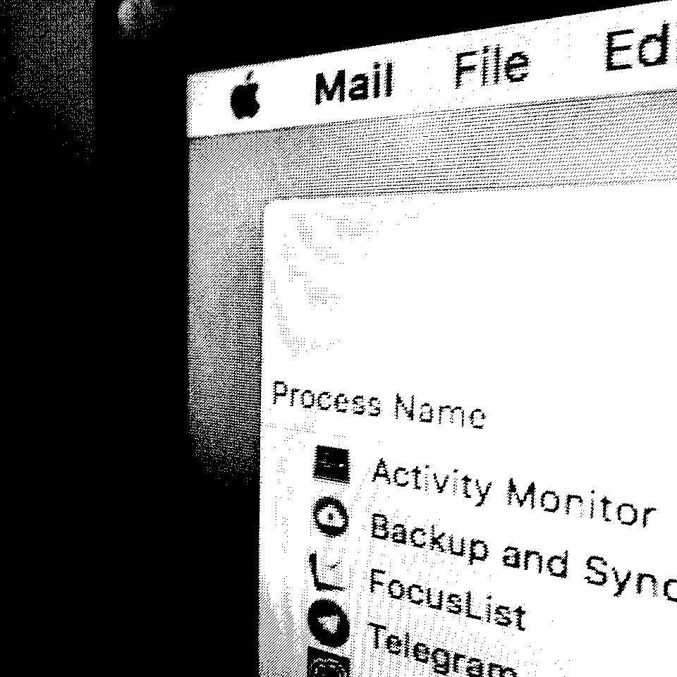 Small Potion - Mac OS X Menu screenshot