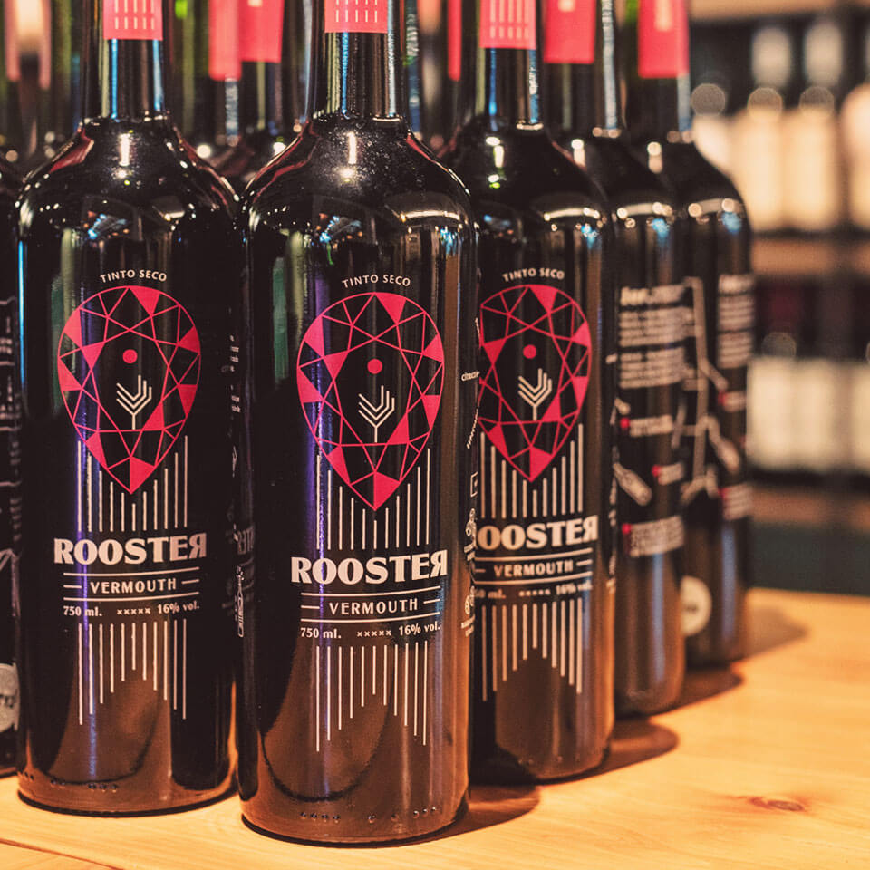 Rooster Bottles - Botellas Rooster