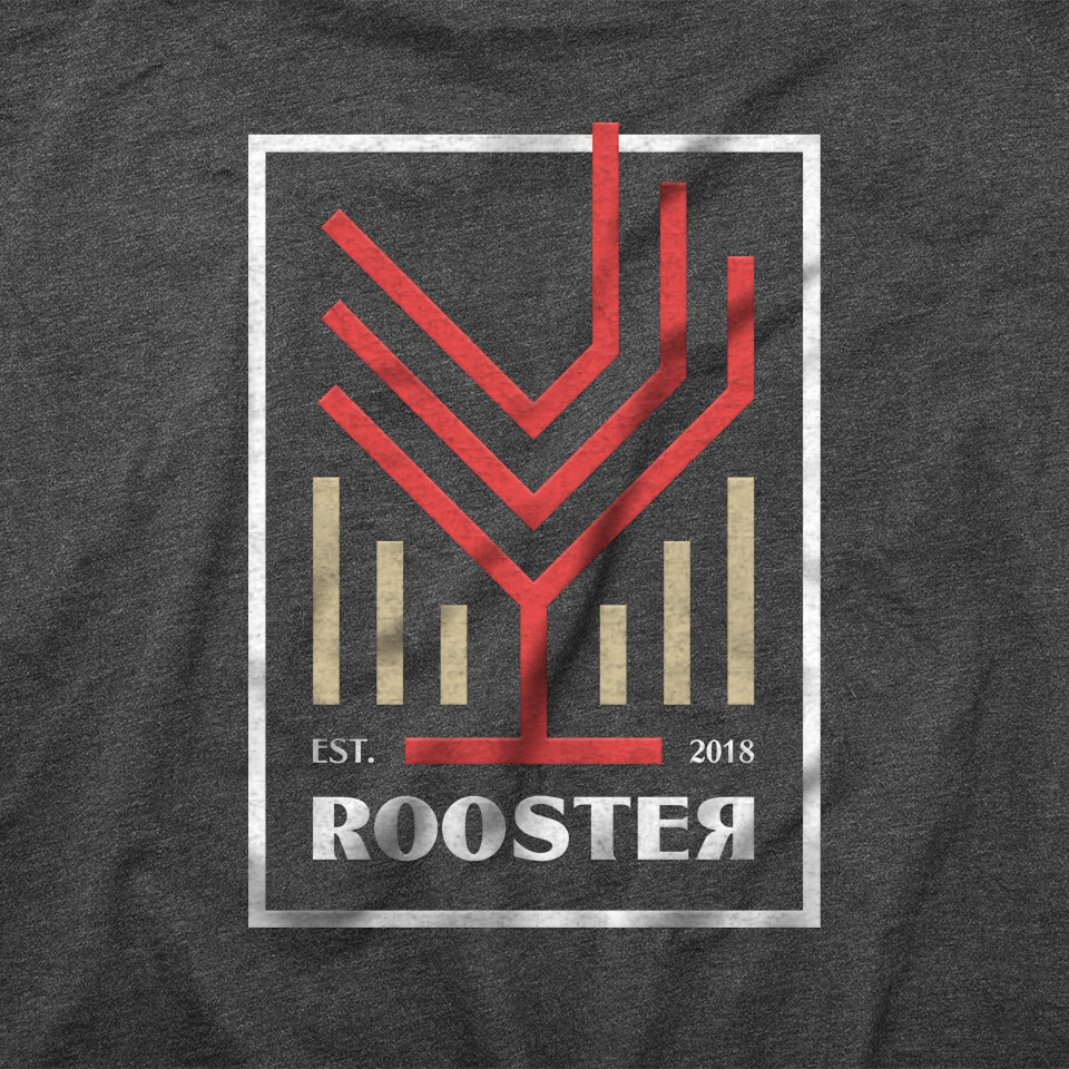 Rooster Tshirt - Remera Rooster