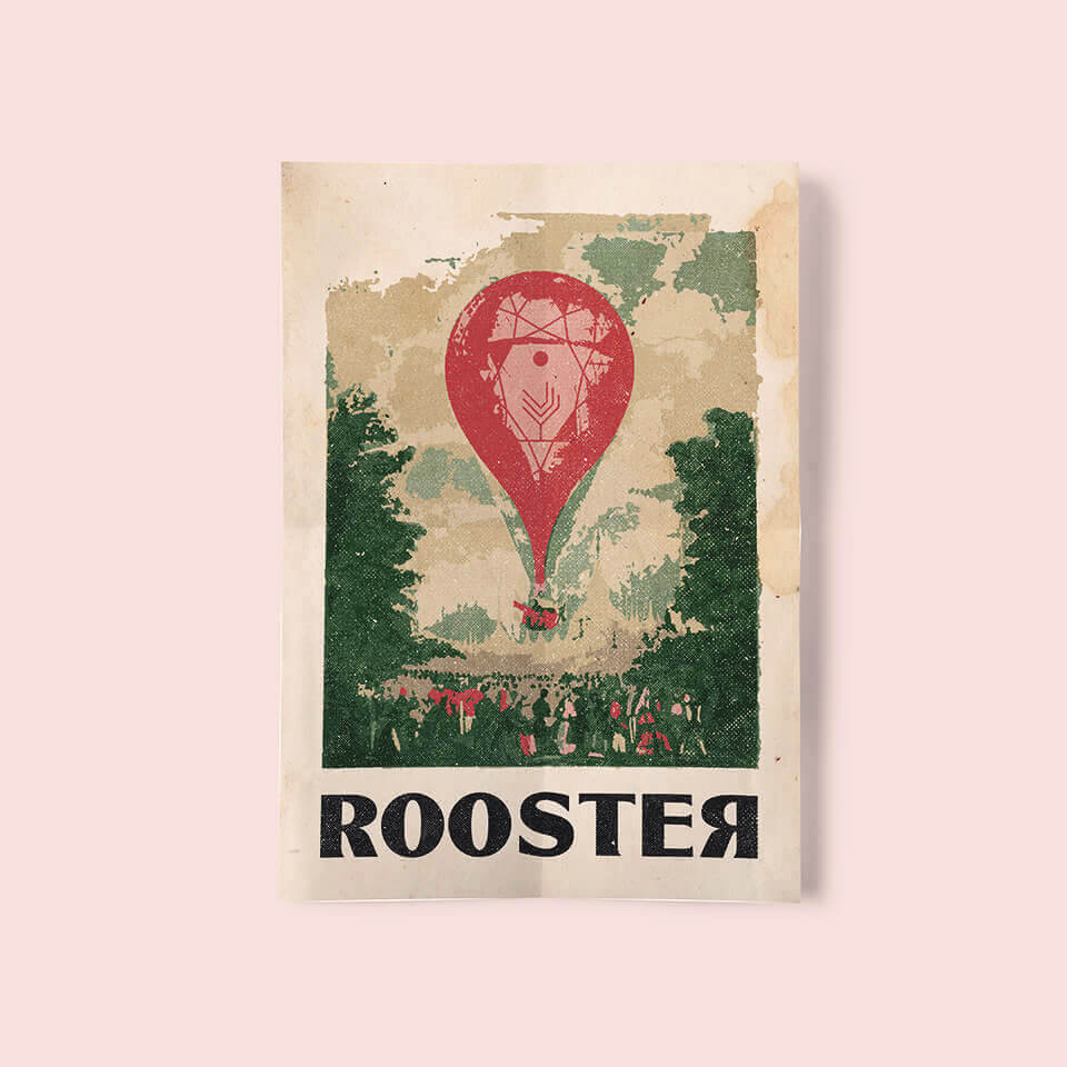 Rooster Poster - Afiche Rooster