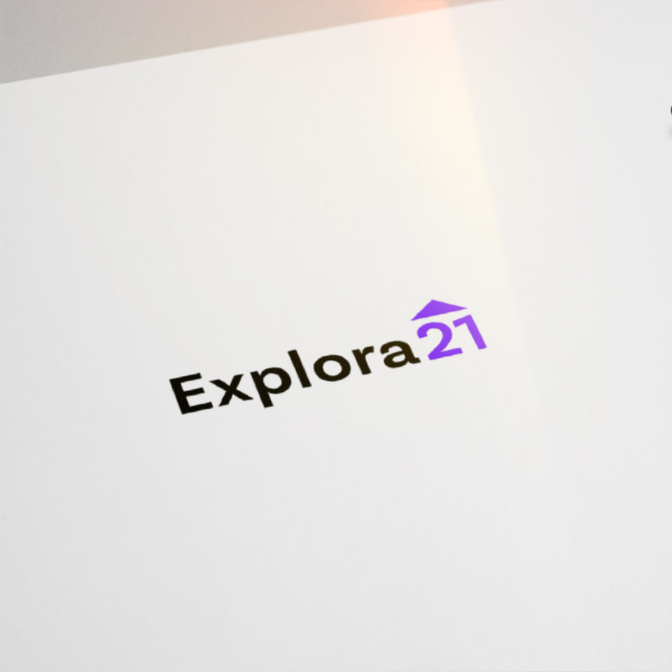 Explora21 Logo Logotipo