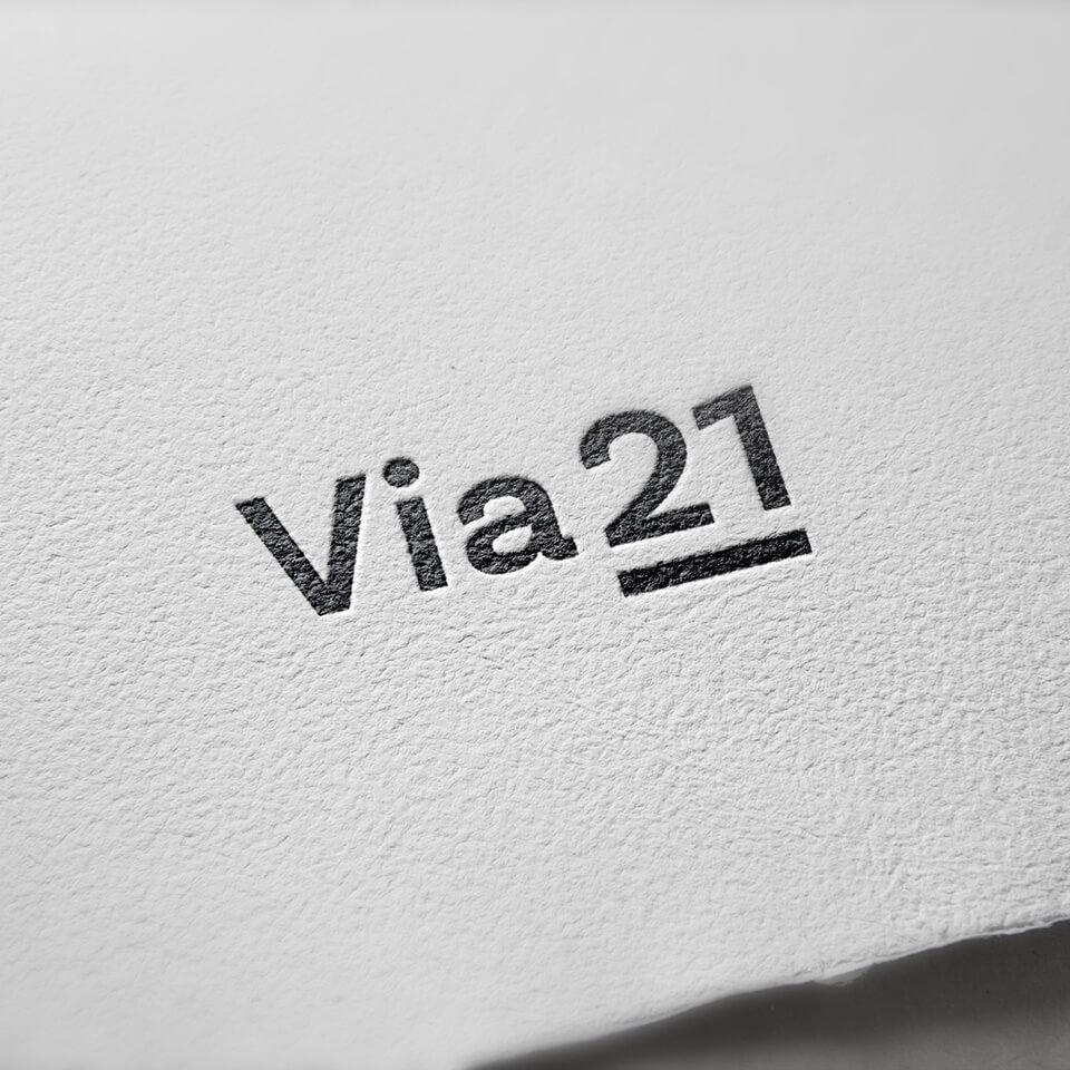 Via21  in paper-Via21 en papel