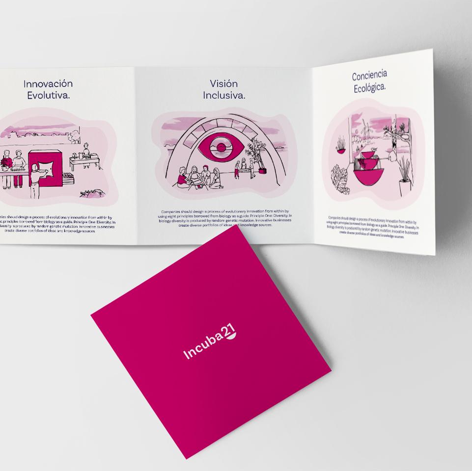 Incuba21 Material impreso impress material