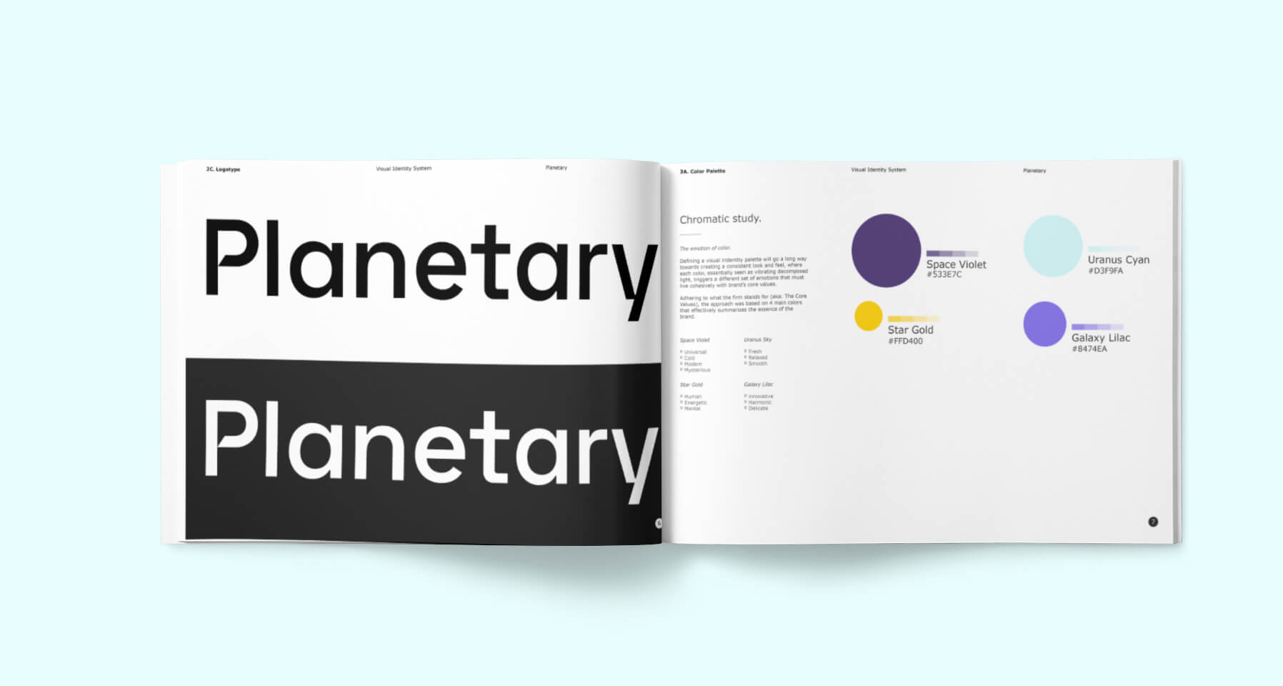Planetary Chromatic Study -  Estudio cromatico planetary