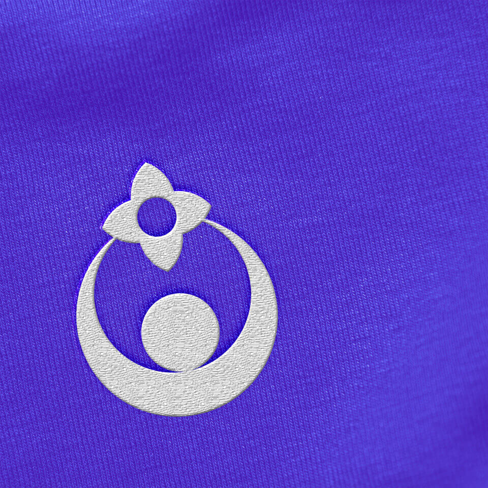 Logo application on cloth
