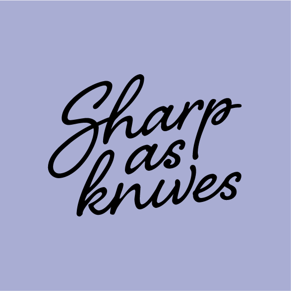 Sharp as Knives Logo Design