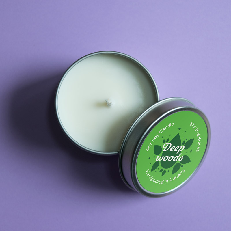 Sharp as Knives candle