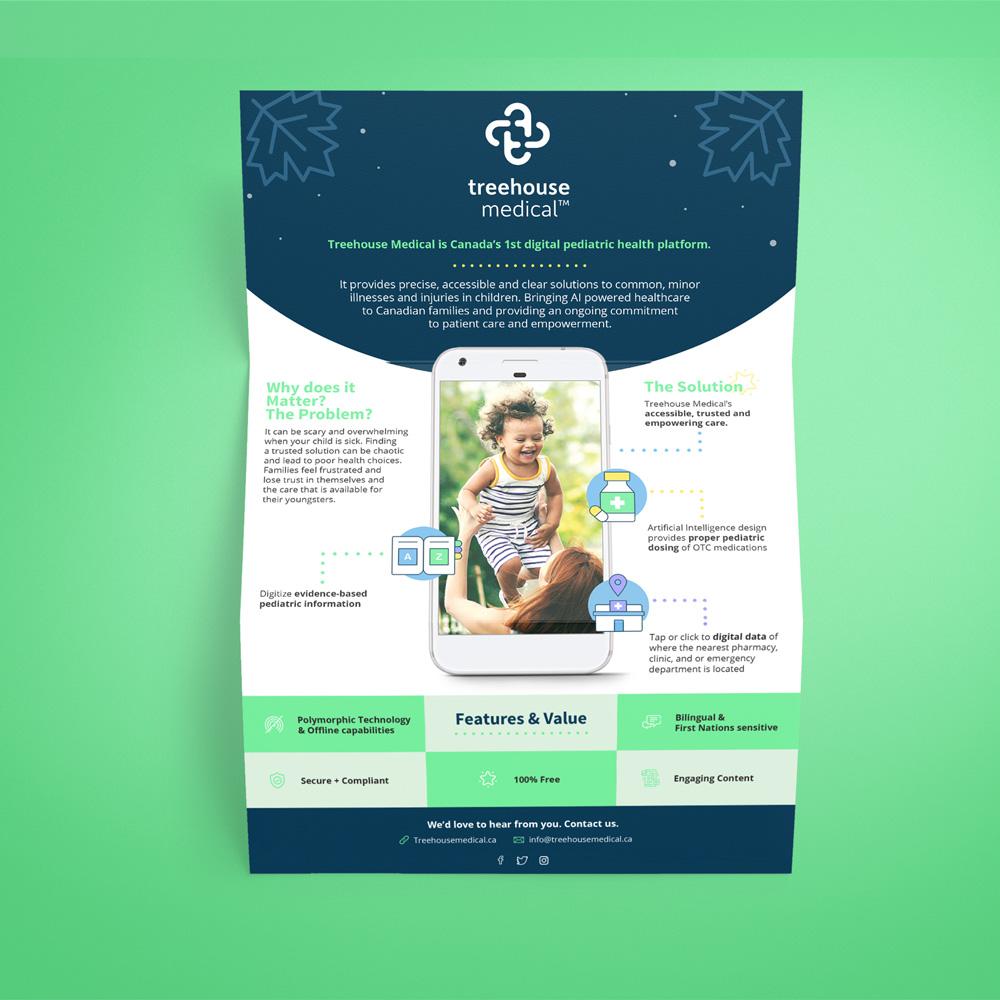 full view of brochure design