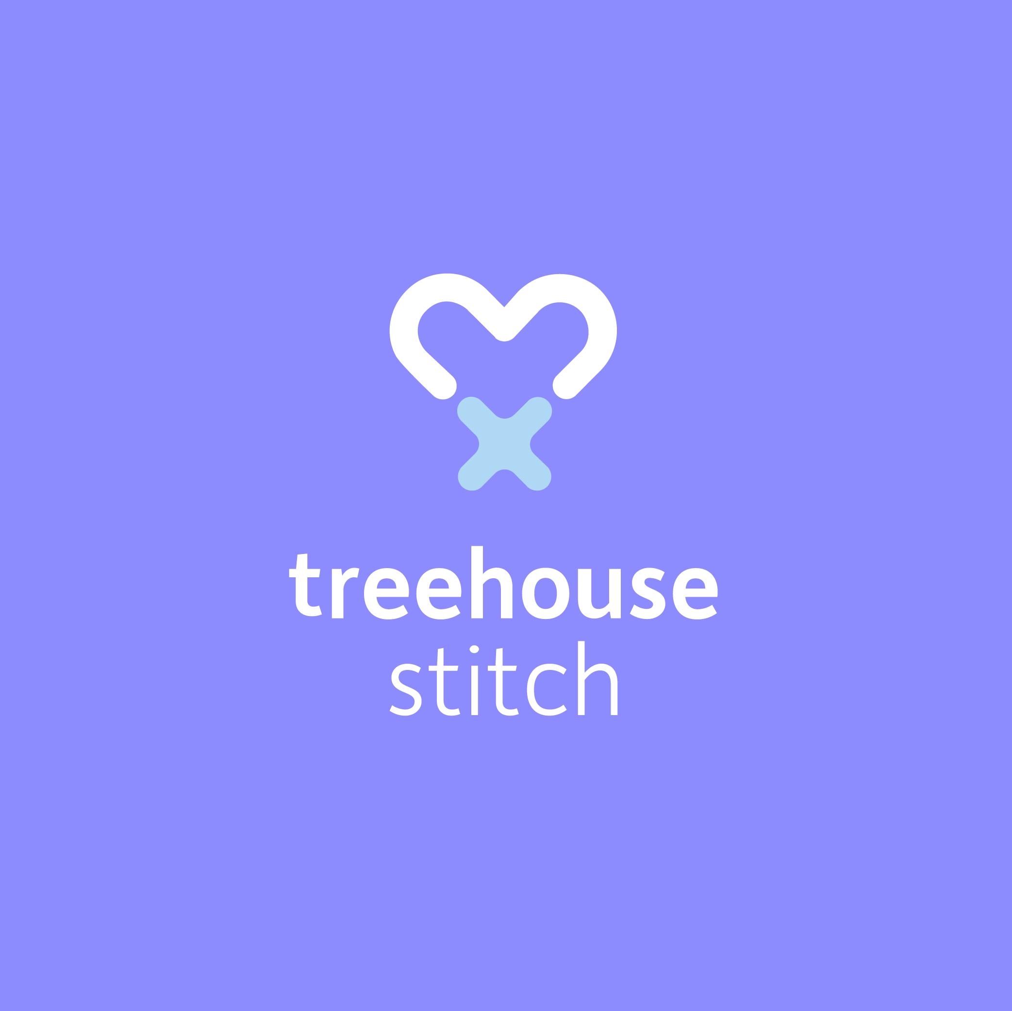 treehouse stitch logo design
