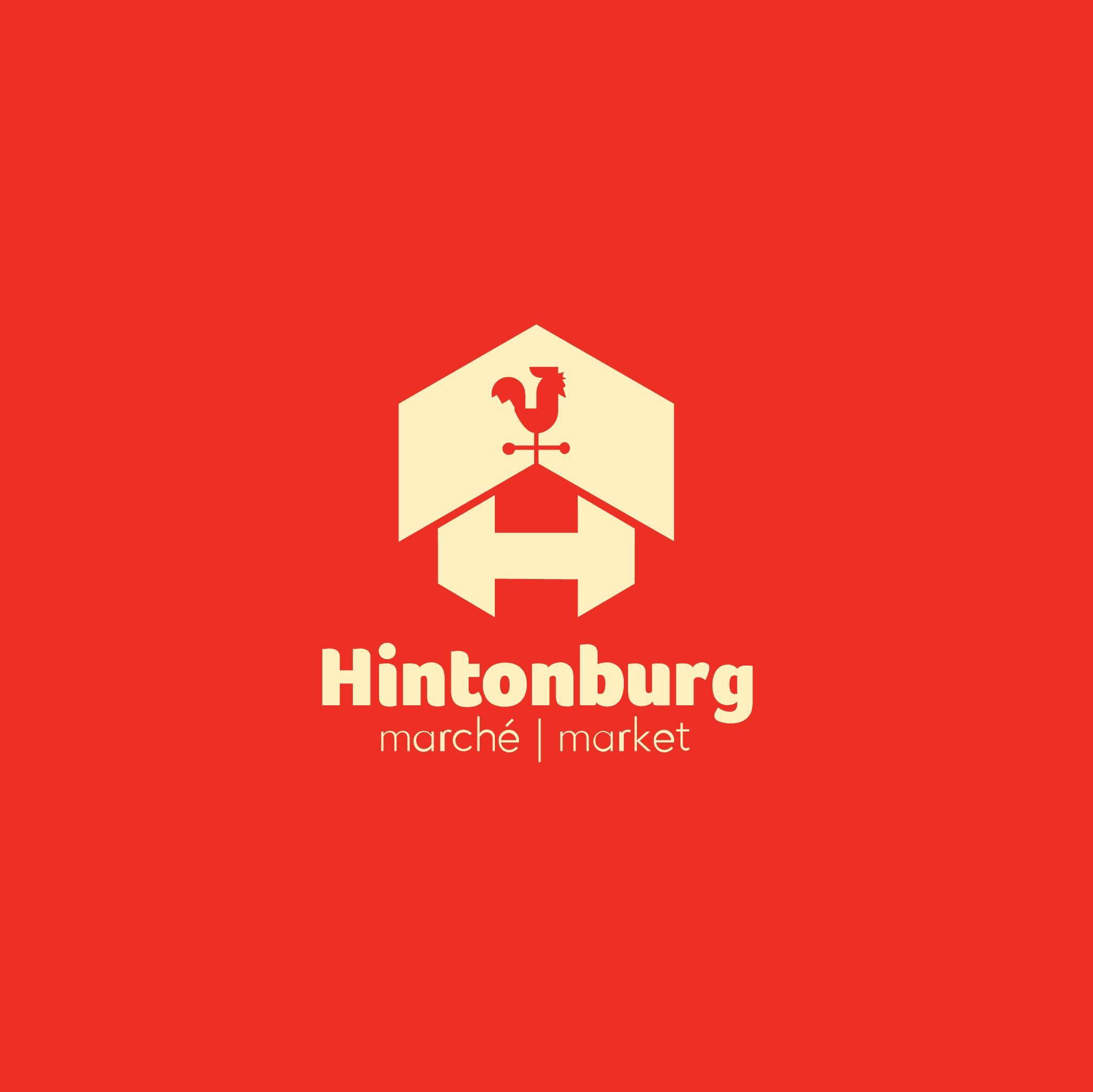 Hintonburg logo design